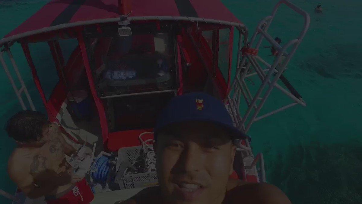 石垣島から船で行った幻の島は世界1綺麗でした