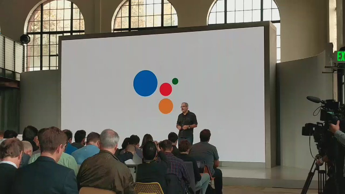 Scott Huffman announces Conversational Actions platform for the #GoogleAssistant #MadeByGoogle https://t.co/Vtw0J00kiX