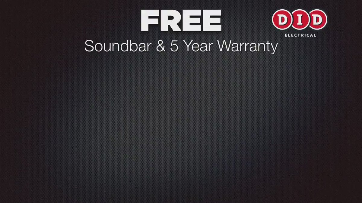 Get a FREE sound bar and 5-year warranty at DID on select Sony TVS! #AwesomeAutumnSavings https://t.co/HU1idV5dAF https://t.co/qfnOVTwYOH