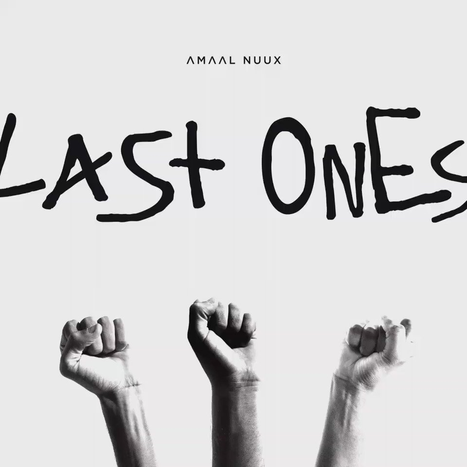 #LastOnes Premiere via @papermagazine at 11AM EST. Produced by @beatchild Artwork by @AmisiDesigns