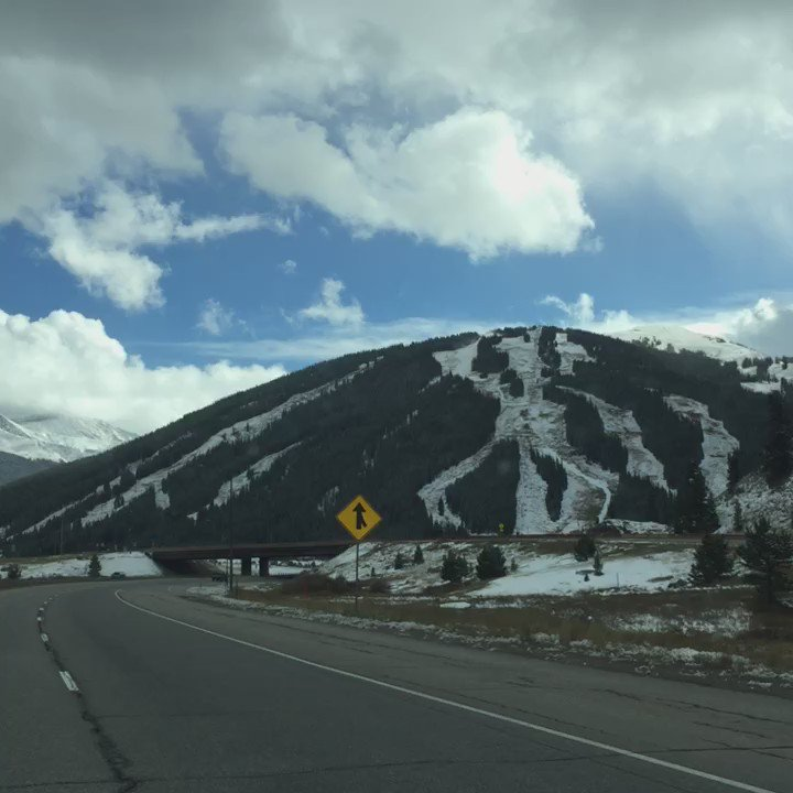 I spy snowmaking at @CopperMtn