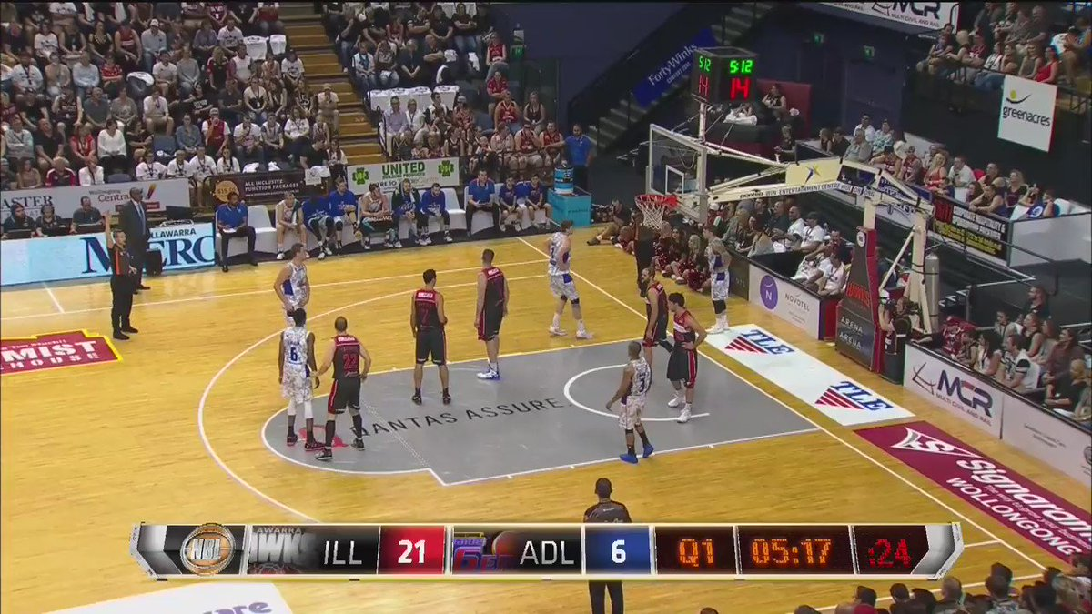 .@the2kferguson with them bunnies! First bucket in the NBL is naturally a jam for the young gun #yourgame https://t.co/X264JQqPMO