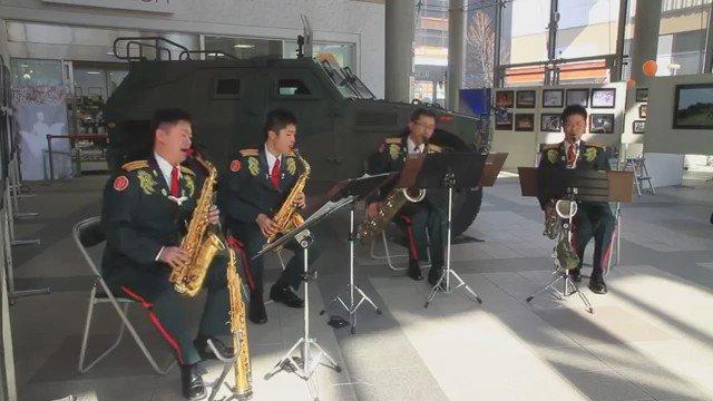 こちらは陸上自衛隊第2音楽隊のサックスアンサンブルで「名探偵コナン メインテーマ」です。