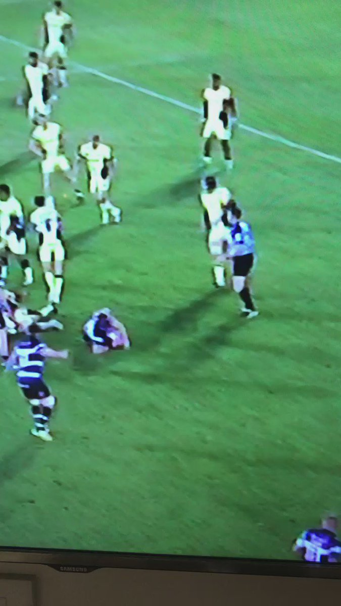 Haha we don't want diving creeping into rugby ref