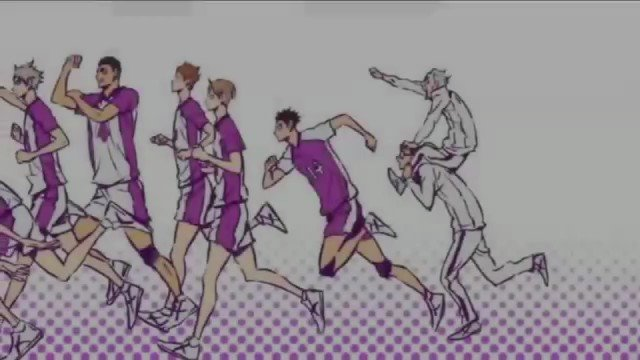 ハイキュー三期エンディングテーマ『マシ・マシ』NICO Touches the Walls色々なチームのメンバーが出てく