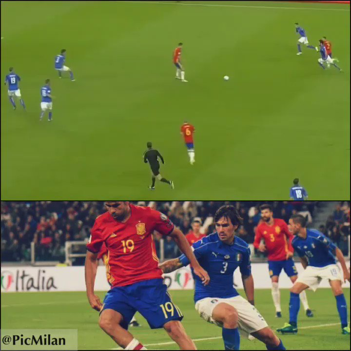 Romagnoli vs. Spain #ItalySpain https://t.co/yHeJ0KTMTL