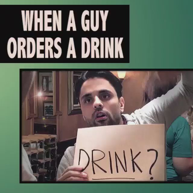 When a guy orders a drink... �������� https://t.co/olZTZRKSB8