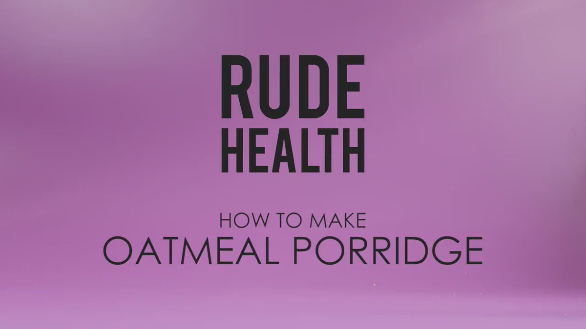 Happy #WorldPorridgeDay. Have you made Oatmeal - the mother of all porridge - before? No? Well here's how... https://t.co/Ah3jILFwBV