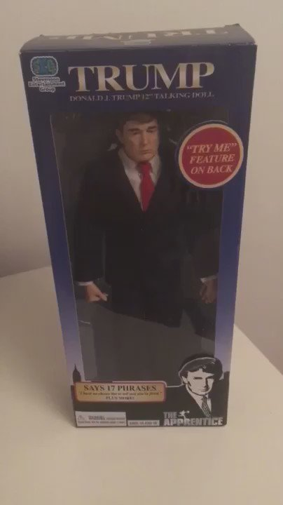 Moved flat and found this talking Trump doll https://t.co/slqFeZ453z