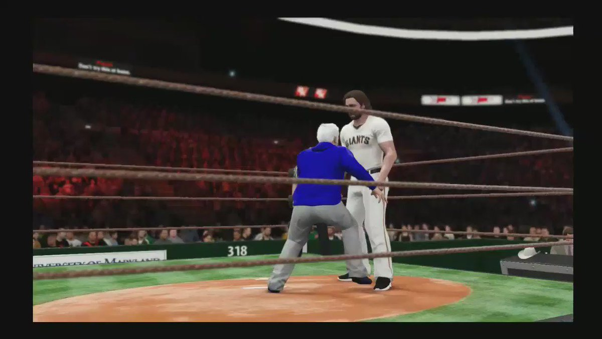 I did have to let Maddon beat up Bumgarner a bit to celebrate the win. https://t.co/pUxoDD8BSD