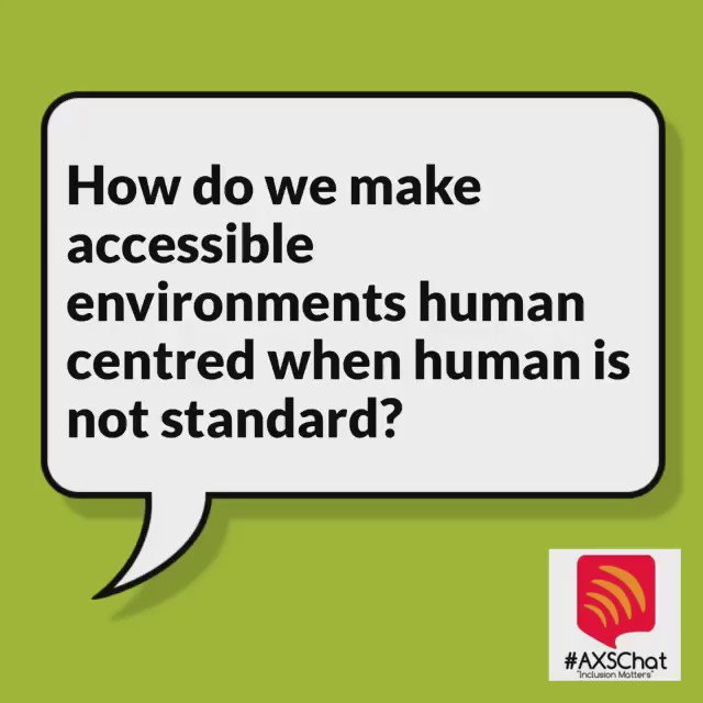 How do we make accessible environments human centred when human is not standard? #DM16 #neurodivercity https://t.co/Kfu97afV0X
