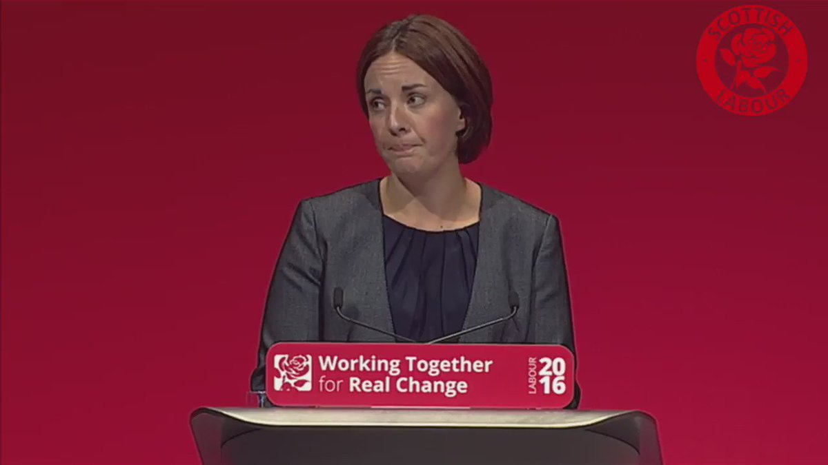 'First minister, our country is divided enough.  Do not divide us again.' @kezdugdale #SNP16 https://t.co/trtezWB9Ju