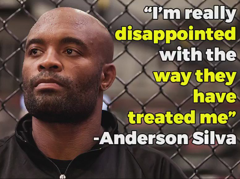 Anderson Silva, Jose Aldo, Georges St-Pierre and more speak out against the UFC. https://t.co/UKgP7UbEzN