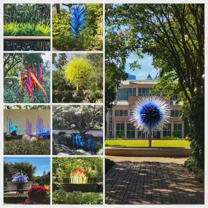 The Chihuly sculptures at @AtlBotanical are AMAZING! #SITsum #DiscoverATL @SITSumATL @DiscoverAtlanta https://t.co/NAG1qbLINu
