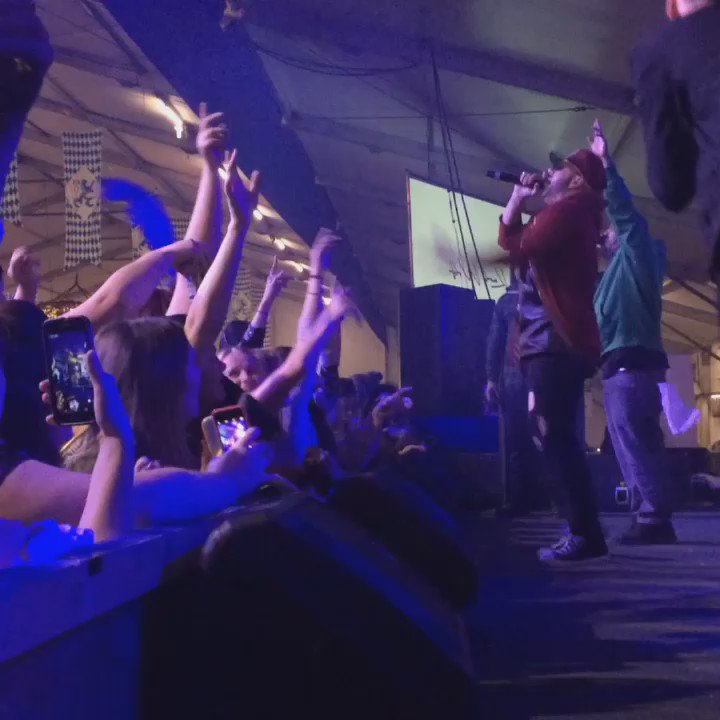 #KoolHaus2016 is bumpin' with @KARLWOLFs killin' it on stage! #Oktoberfest #KWOktoberfest https://t.co/yIi50qMuJT