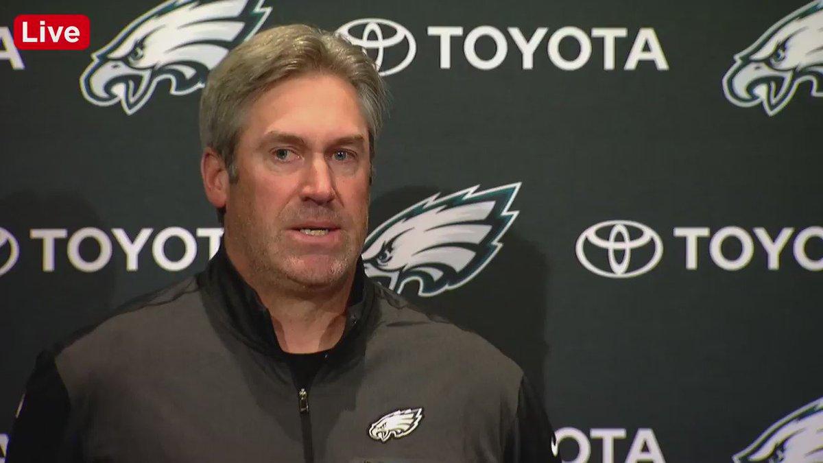 Wow. Eagles fans were relentless when Doug Pederson spoke about Big V's performance yesterday. https://t.co/o4WWeAZ4ci