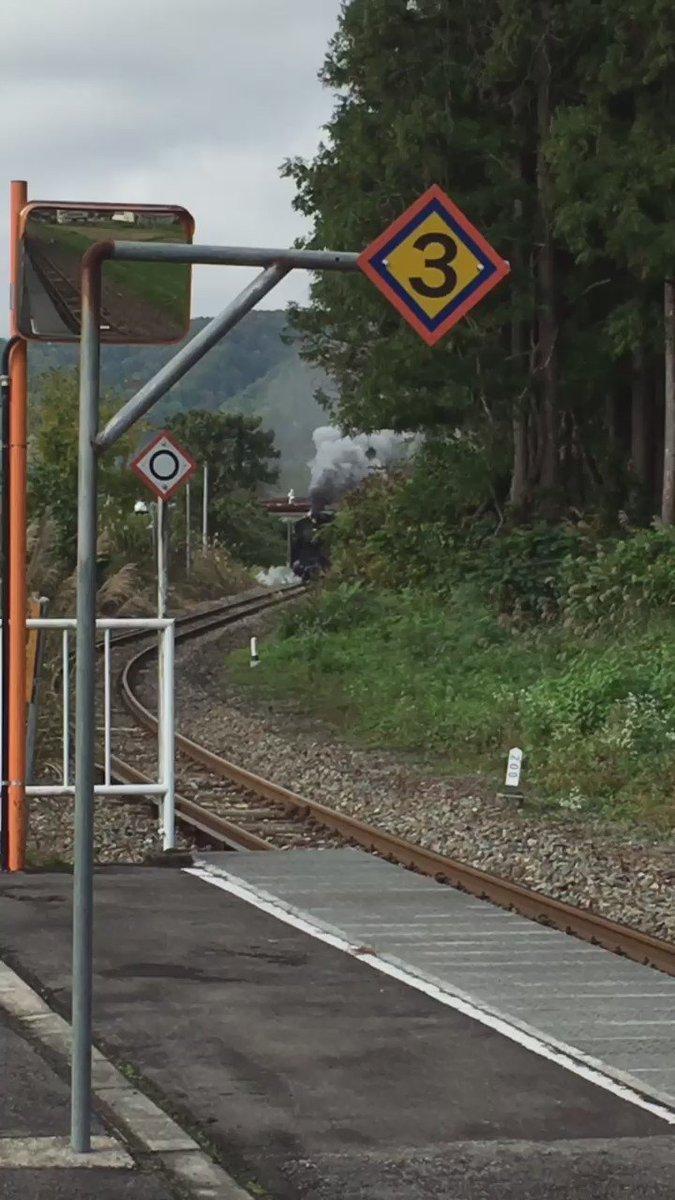 JR飯山線SL試験運転。 https://t.co/JOUxqHZYKH