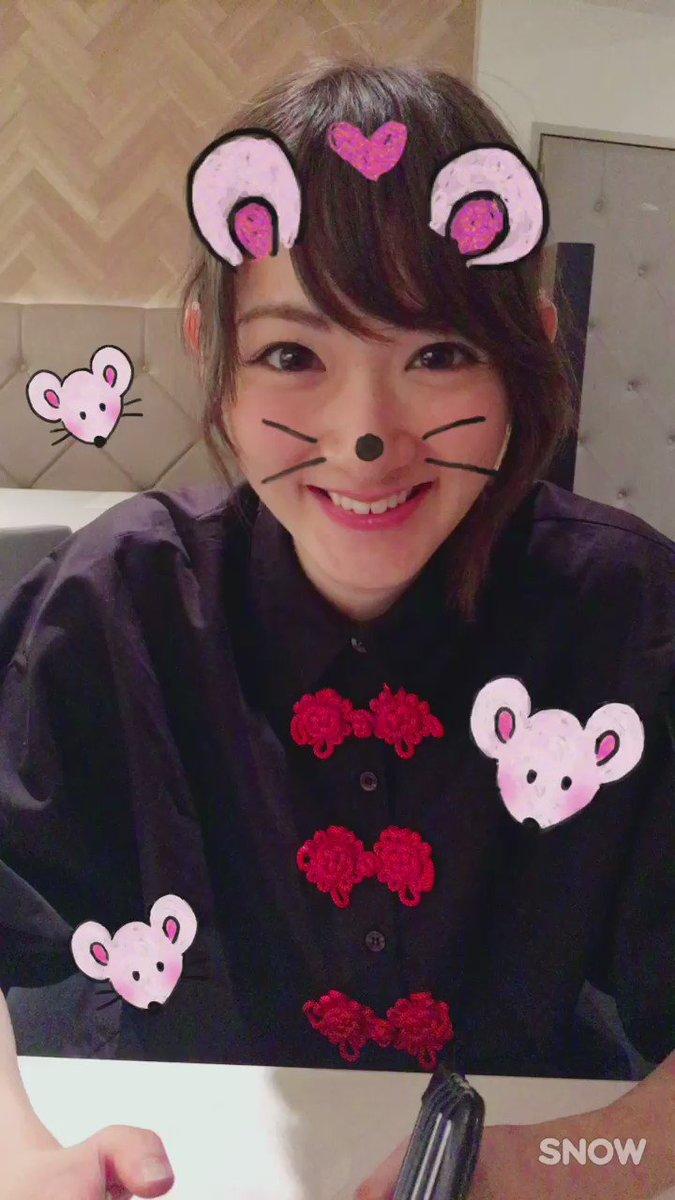 いこたん。ちゅーちゅー。ねずみさん。  #生駒里奈