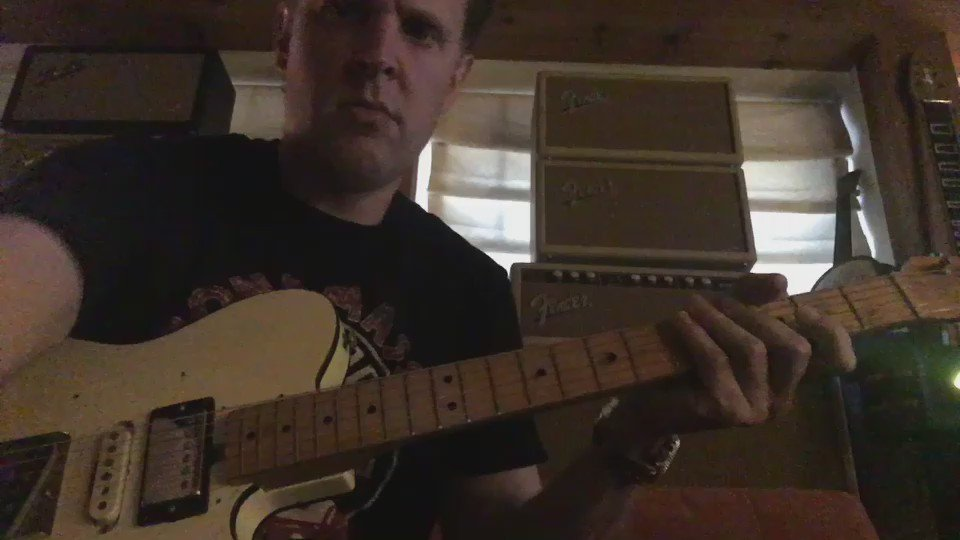 "Some fun with the slightly altered 68 Tuxedo Telecaster otherwise known as ""The King of Turds"" https://t.co/RsKKE06XyW"