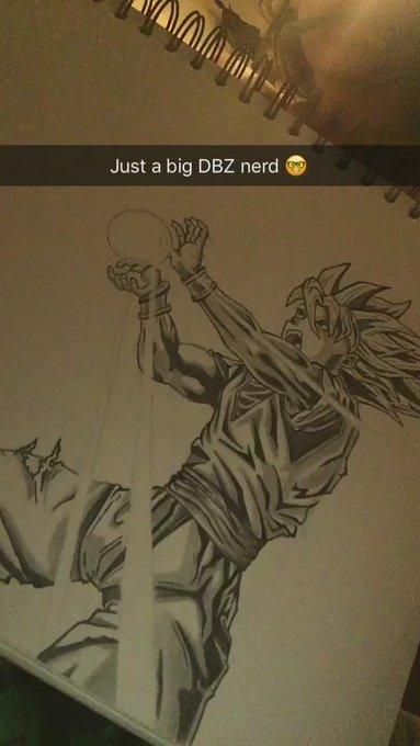Goodnight vibes 😈🌲🔥 #DBZ #Goku #Doodle https://t.co/TKkiTiGTHI