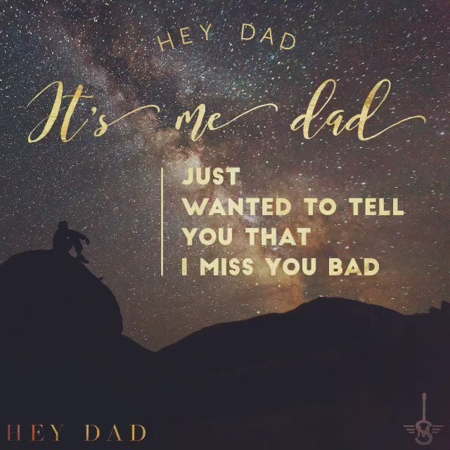 H E Y // D A D #countrymusic #country #music #lyrics #dad #heydad https://t.co/dZ34alNsfk