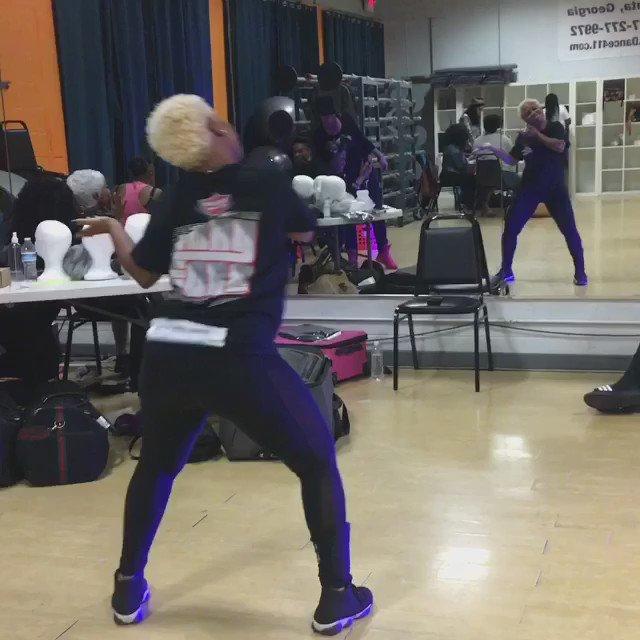I always catch my dancers off guard @ rehearsal! Sorry Ediddi emah had 2 post