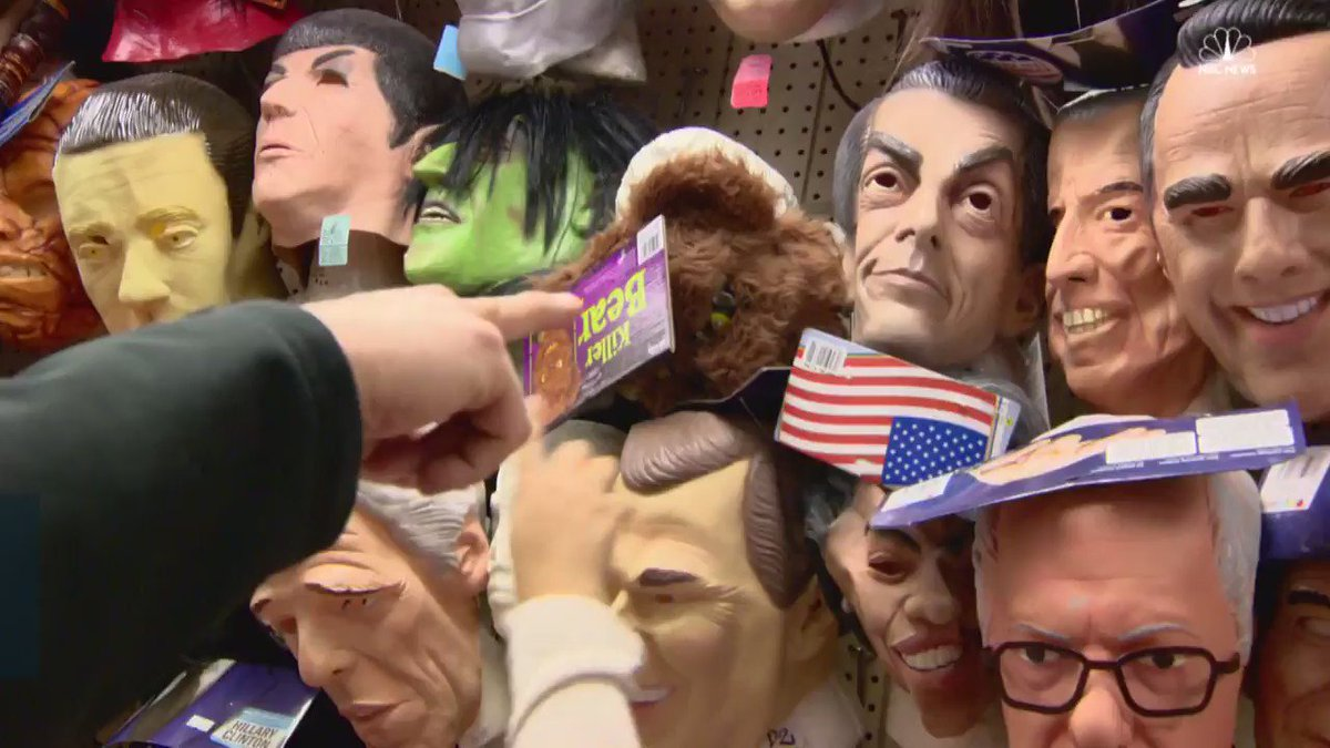 """Trick or treat! """"Politics of fear"""" is taking on a new meaning this Halloween"""