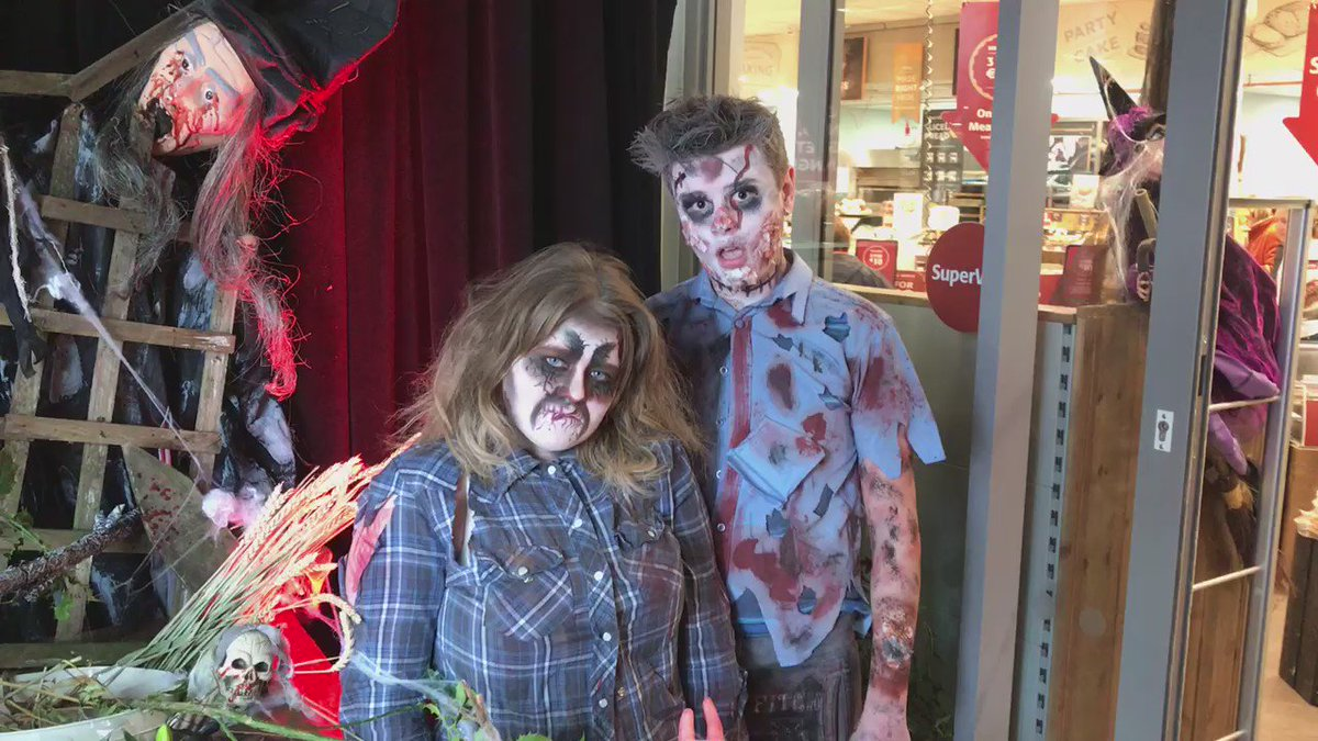Come meet our Zombies if you Dare... here until 4pm along with free Facepainting and balloons for kids! https://t.co/5vnTcIgAaM