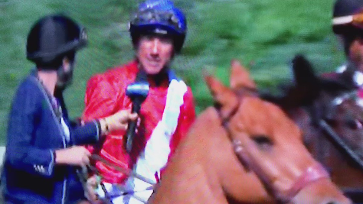 Amazing to see @FrankieDettori mention @freddytylicki just after his win! #RacingFamily