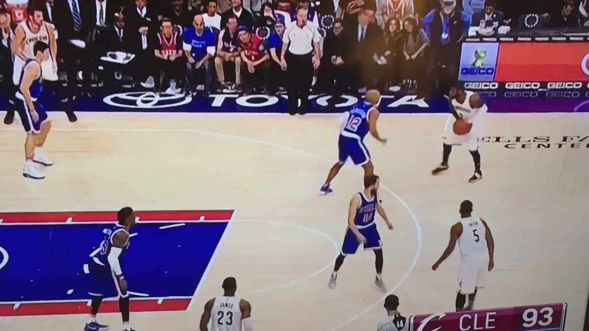 This is not a foul. Absolute nonsense. #Sixers #Cavs https://t.co/CTriTPRjtv