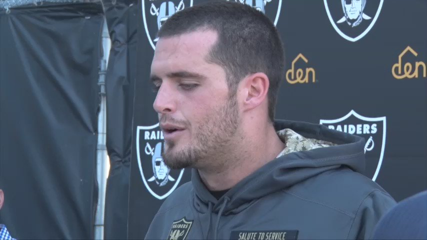 Derek Carr �� https://t.co/92G81K36bv