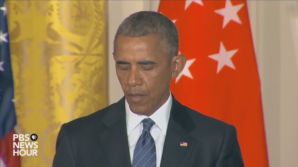 """@realDonaldTrump * On August 2, 2016, President Obama said: """"Yes. I think the Republican nominee is unfit to serve as President."""""""