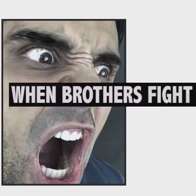 When Brothers Fight https://t.co/g9sxNA6Iw1