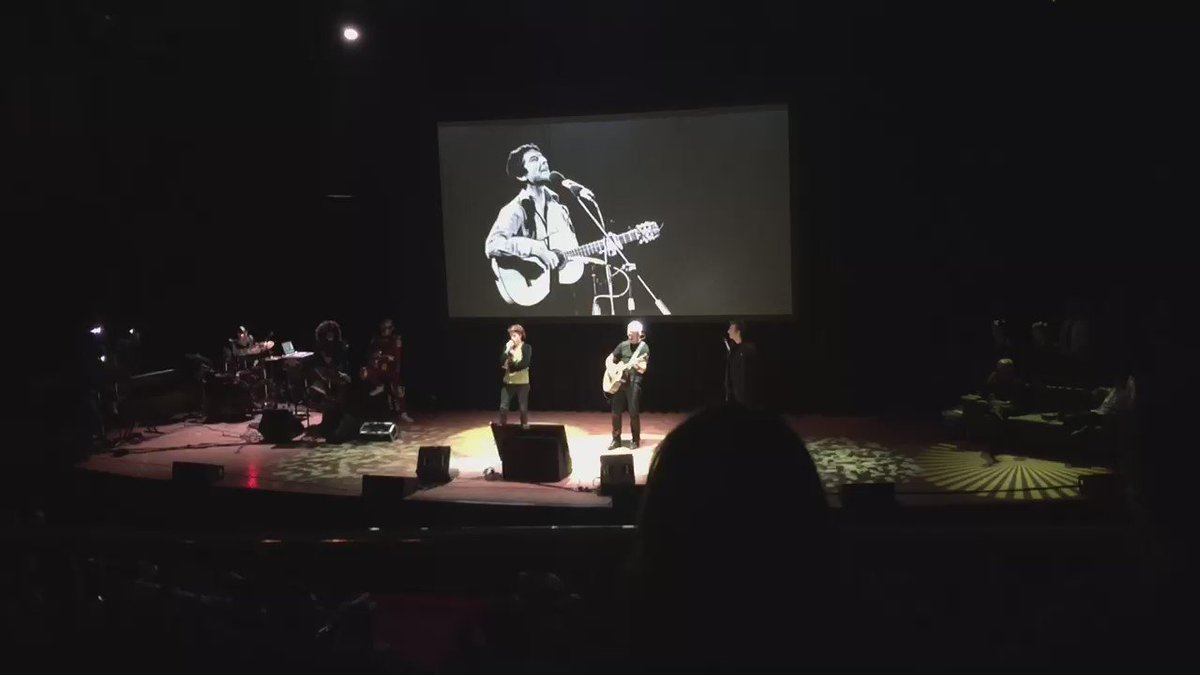 Last night @amandapalmer and @Cmdr_Hadfield covered Hallelujah and it was amazing. https://t.co/TI7Tcl1xxP