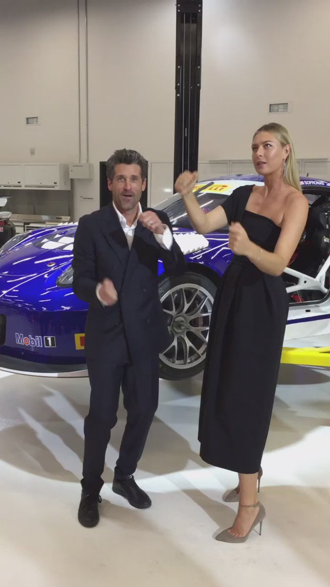 Trying out some invisible @Porsche models with Patrick Dempsey at the new Porsche Experience Center in LA. #PECLA https://t.co/F0jFk4tCR3