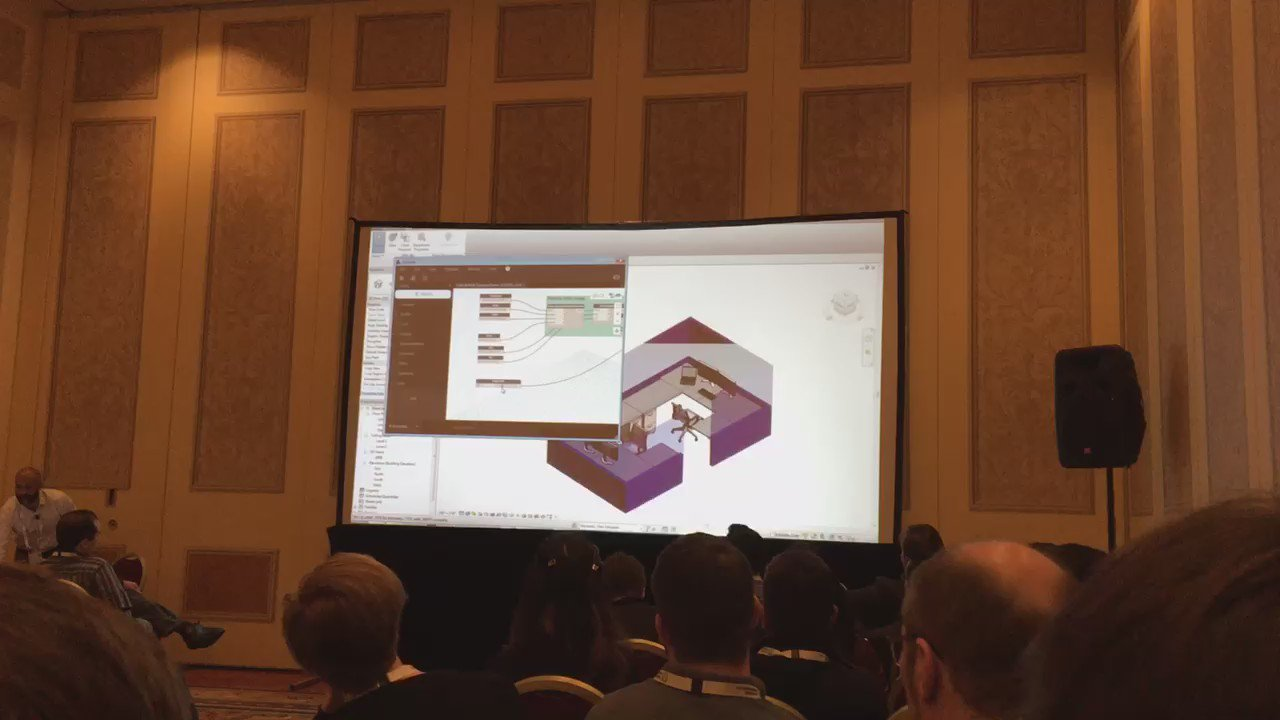 Building performance management using Project Dasher featuring Dynamo Studio by @keanw @ #AU2016 @DynamoBIM https://t.co/YHwmg27MUI