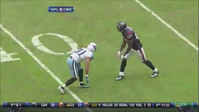 Happy Birthday to Andre Johnson! Thank you for doing what everyone wanted to do.