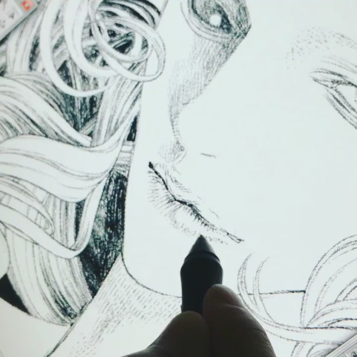 作画動画。 Marie Joseph Sanson https://t.co/1rjfMKQ5Uq