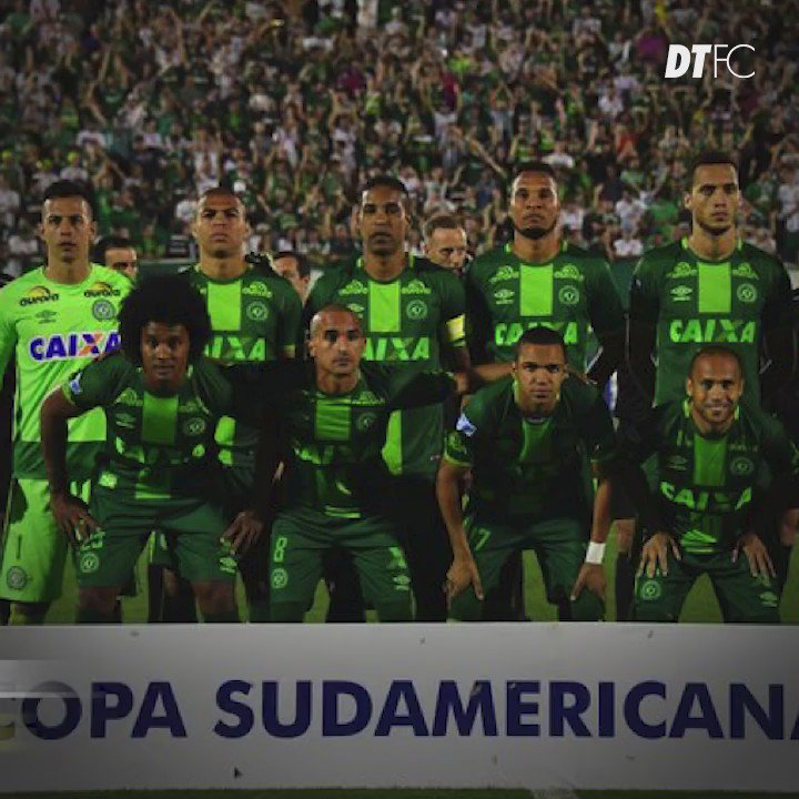 Our thoughts go out to #Chapecoense after the tragic plane crash this morning #ForçaChapecoense https://t.co/AEcW8vpAND