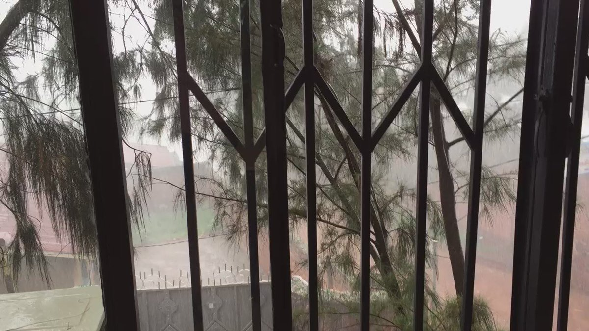 Good morning we are having a bit of rain here in Kigali https://t.co/XnMHV6hQrI