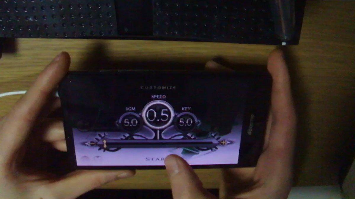 PUPA [Hard] 0.5速ACの動画