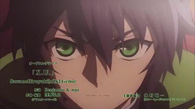 ◆終わりのセラフ『X.U.』 ◆