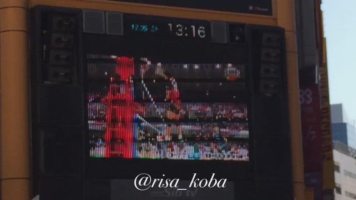 ■サンバーズのプロモーションビデオ@渋谷タワレコ■ハイキュー!!柳田将洋選手巨大広告@渋谷TSUTAYA(横線入っててす