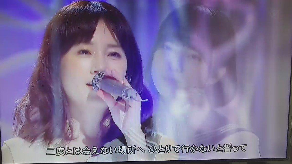 この前のFNS歌謡祭での欅坂46と原田知世コラボの「時をかける少女♪」これ観たことあるなデジャブ?って思ってレコーダー確