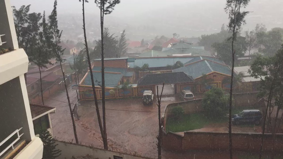 Having a bit of weather here in Kigali. https://t.co/kAR2fhAI0D
