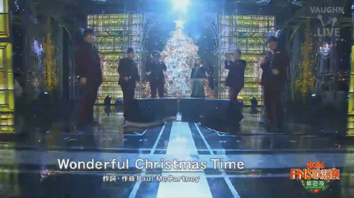 161214 SHINee - Worderful Christmas Time @ FNS歌謡祭 https://t.co/ErhMvm732M