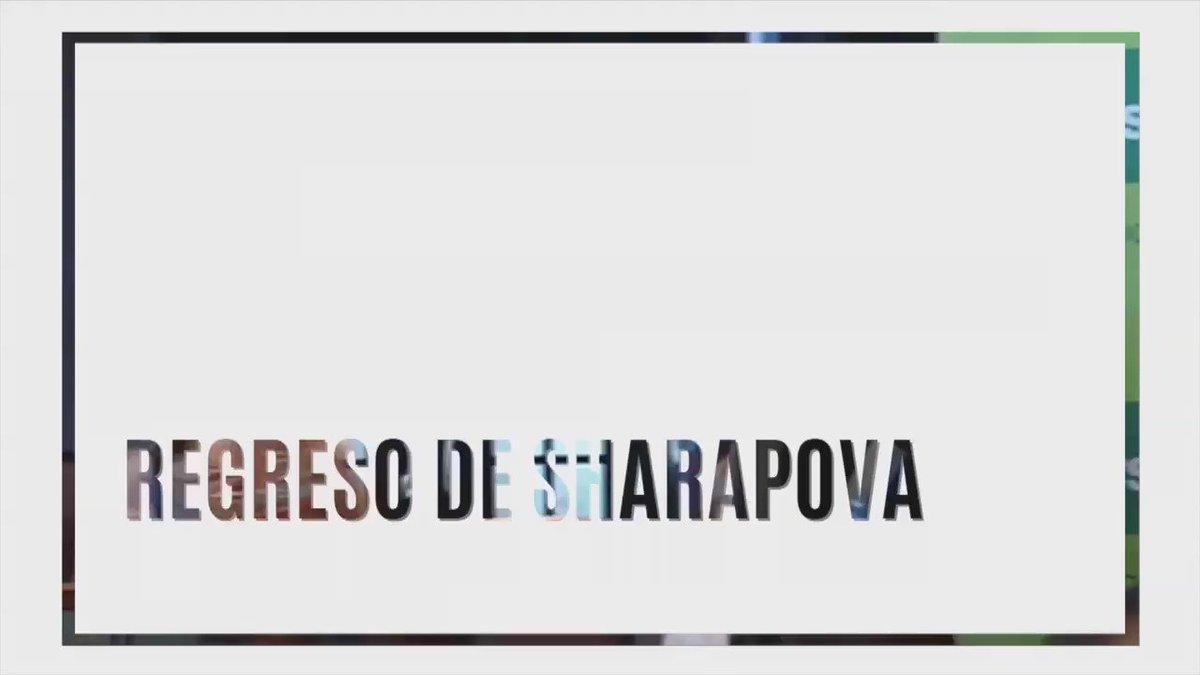 RT @AgenciaTelam: ???? María Sharapova regresa a la cancha de tenis en partido de exhibición en Puerto Rico https://t.co/l5L442mov5