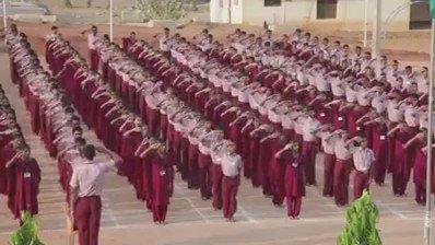 मूक-बधीर विद्यालय में #राष्ट्रगान!  एक रोमांचित करने वाला अनुभव अवश्य देखें। https://t.co/avtfvCmdeK