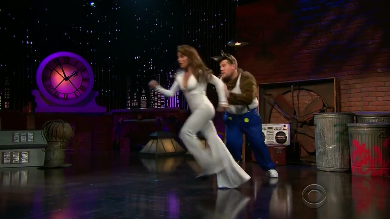 .@JKCorden this #MusicMonday is bringing back memories! Love it when you steal the covers! xoP @latelateshow #OppositesAttract https://t.co/asVbb8ZbAN