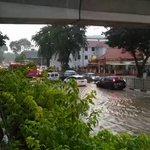 Flash floods across Singapore cause massive traffic disruptions